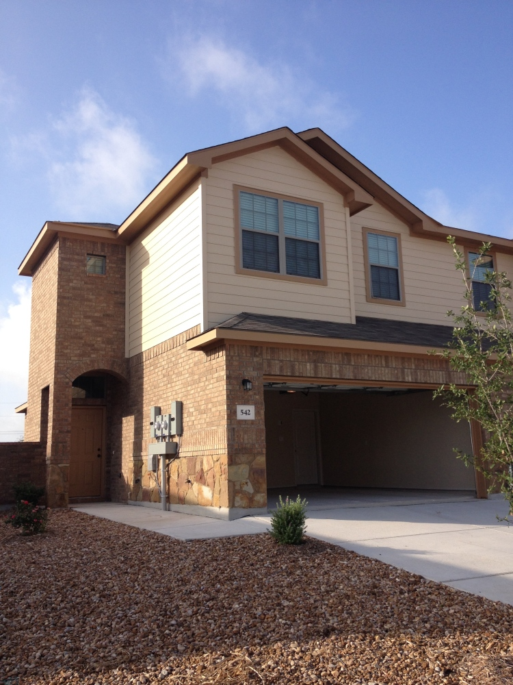 our new townhouse in New Braunfels, TX