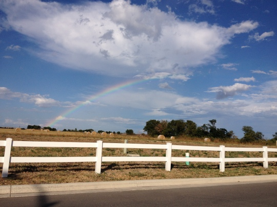 rainbow in New Braunfels, TX