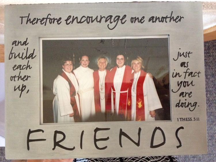picture of friends at my ordination