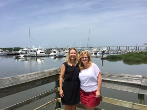 Brunch on the water with my dear friend Cheryl